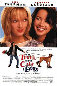 THE TRUTH ABOUT CATS AND DOGS   Original American One Sheet   (Fox, 1996)