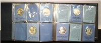 Franklin Mint  Special Commemorative Issues of 1975 Medals, First Edition Proofs (Sterling)