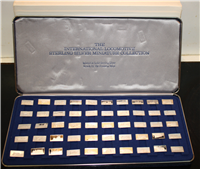 The International Locomotives Sterling Silver Miniature Collection  (Franklin Mint, 1977)