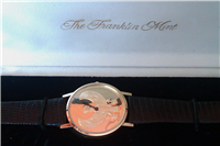 The Egyptian Golden Falcon 18 KT Gold Watch (Franklin Mint , 1985)