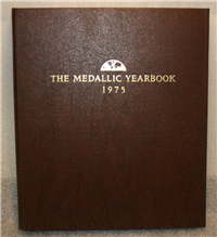 Franklin Mint  1975 Medallic Yearbook Medals