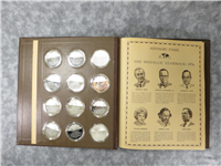 Franklin Mint  1976 Medallic Yearbook Medals