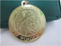 The Apollo 15 Eyewitness 18KT Gold Pendant (Franklin Mint, 1971)