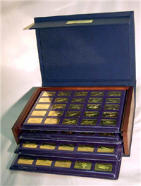 Janes Medallic Register of the World's Greatest Airplanes Ingots (Franklin Mint) Jane's