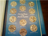 The Great Women of the American Revolution Pewter Medals Collection  (Franklin Mint, 1974)