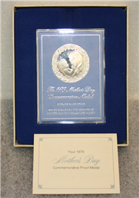The 1975 Mother's Day Commemorative Proof Medal  (Franklin Mint)