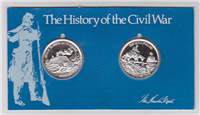 The History of the Civil War Medals Collection    (Lincoln Mint, 1971)