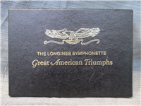 The Great American Triumphs Medals Collection  (Longines Symphonette Society, 1972)