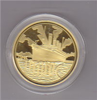 Royal Mint: RMS Titanic Commemorative Medal (Gold)