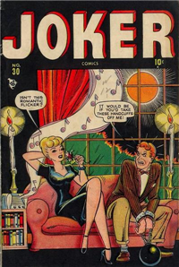 JOKER COMICS  #30     (Timely)