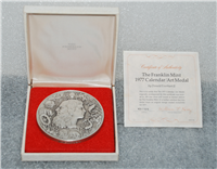 Franklin Mint  The 1977 Calendar / Art Medal by Donald Everhart II