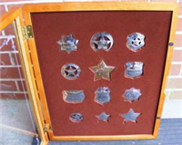 Western Heritage Museum's The Badges of Great Western Lawmen Ingot Collection  (Franklin Mint, 1984)