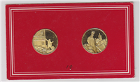 Franklin Mint  Kings and Queens of England Medals Collection (32mm, 24KT Gold-Plated)