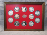 The Provinces of Canada Medals Collection  (Franklin Mint, 1975)