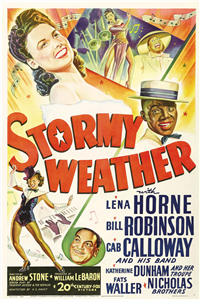 STORMY WEATHER   Original American One Sheet   (20th Century Fox, 1943)