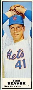 1968 Bazooka  Baseball Card   Tom Seaver