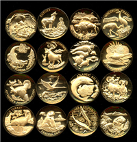 America's Natural Legacy Endangered Wildlife Medals Collection   (Longines Symphonette, 1979)