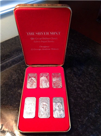 The Great Indian Chief Ingots Series  (Silver Mint, 1975)