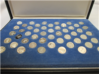 The States of the Union Platinum Mini-Coin Set   (Franklin Mint, 1969)