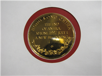 Hong Kong Returns to China Medallic Cover  (Franklin Mint, 1997)