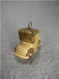 Porcelain Car Christmas Ornament (Goebel, W. Germany)