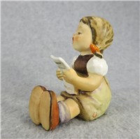 GIRL WITH SHEET OF MUSIC 2-5/8 inch Figurine  (Hummel 389, TMK 5)
