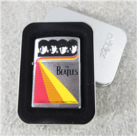 THE BEATLES SHINE Color Printed Street Chrome Lighter (Zippo, 24549, 2008)