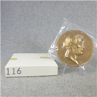 "ABRAHAM LINCOLN 3"" Bronze Inaugural/Memorial Medal (U.S. Mint Presidential Series, #116)"