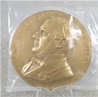 "WILLIAM MCKINLEY 3"" Bronze Inaugural/Memorial Medal (U.S. Mint Presidential Series, #124)"