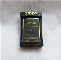 Camel Racing CHECKERED SCARF Chrome Lighter (Zippo,1996)