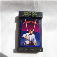Camel WHITE TUX (Motorcycle) Color Coated Lighter (Zippo,1993)