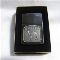 Camel CAMEL BEAST Tombstone Emblem Midnight Brushed Chrome Lighter (Zippo,1992)