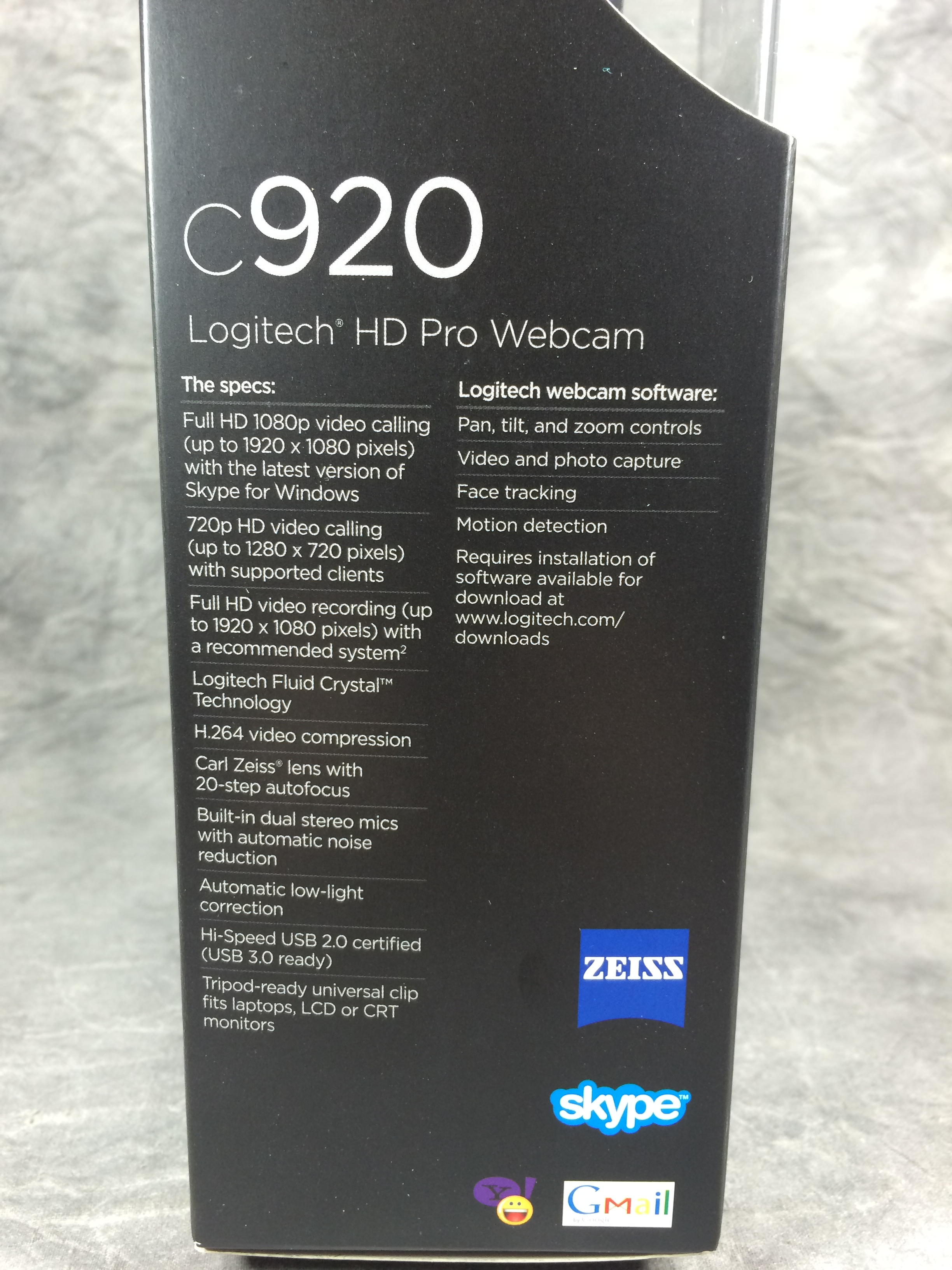 how to change resolution on logitech c920
