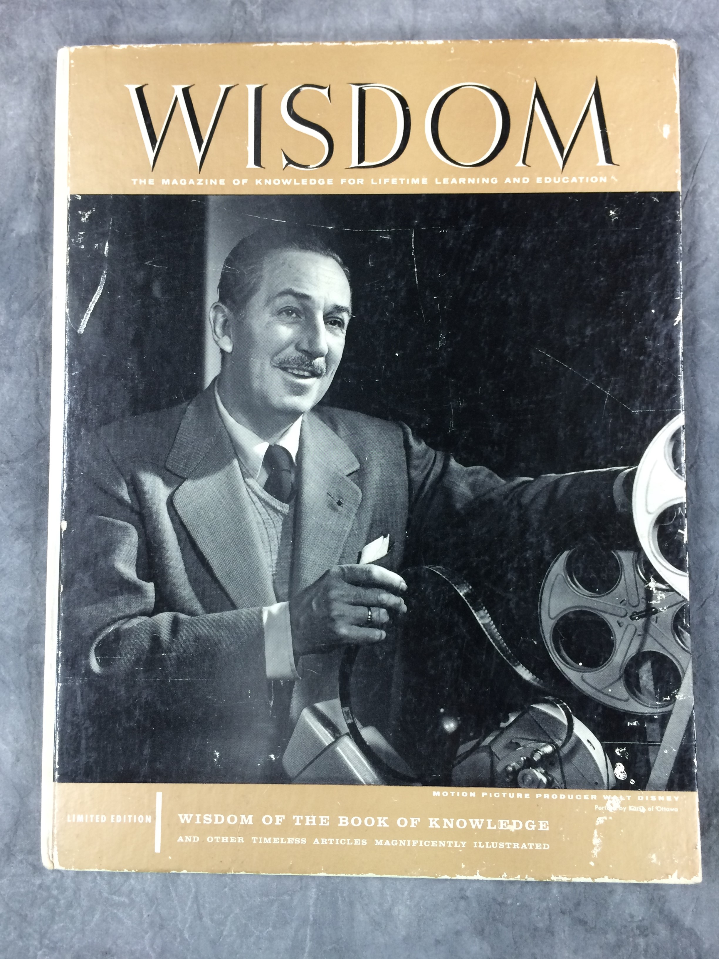 Vintage Wisdom Oracle Bonnie Cehovet: Vintage WISDOM Magazine Vol. 32 Featuring Walt Disney