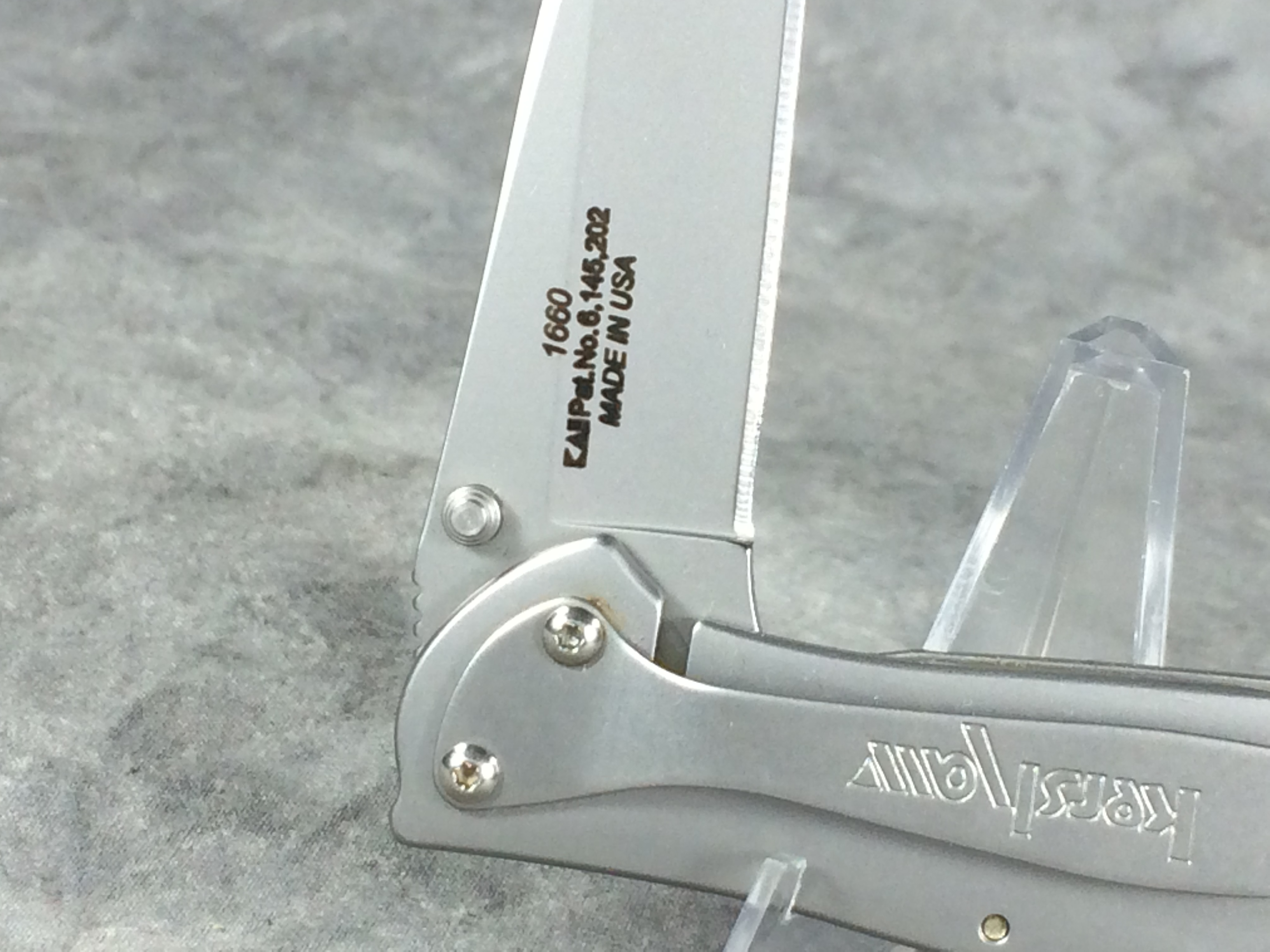 how to close kershaw speedsafe knife