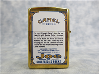 Camel Collector's Pack JOE PLAYING THE TRUMPET Brass Lighter (Zippo, 1998)