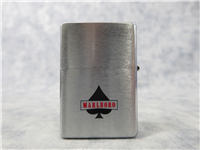 ACES OVER KINGS/MARLBORO World Championship Poker Tournament 2-Sided Brushed Chrome Pat. 2032695 Replica Lighter (Zippo, 2001)