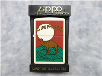 CAMEL AND THE MOON (European Pack Design) White Matte Lighter (Zippo, CZ170, 1997)
