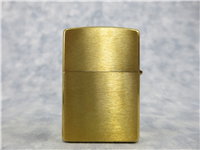 Camel GINGER STANDING/PINUP Limited Edition Brushed Brass Lighter (Zippo, CZ376, 2000)