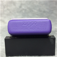 CAMEL JOE PIANO PLAYER Purple Matte over Brass Lighter (Zippo CZ164, 1997)