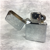 CAMEL JOE FISHING Polished Chrome Lighter (Zippo CZ045, 1995)