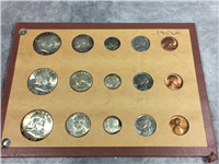 1952 USA 15 UNCIRCULATED COINS 3 FULL SETS Frankin Half-Dollar (U.S. Mint, 1952)