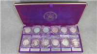 Catholic Commemorative Medal Society (12) Twelve Apostles Medals (Franklin Mint, 1970)