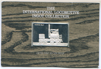The 50 Greatest International Locomotives in History Ingot Collection  (Franklin Mint, 1977)
