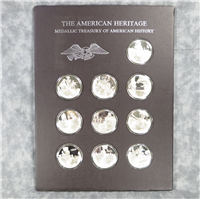 Franklin Mint  The American Heritage Medallic Treasury of American History Medals