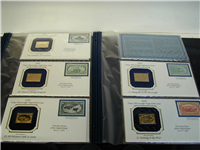America's Greatest Stamps Ingots Collection  (Franklin Mint)