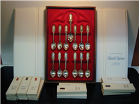 The Apostle Spoons Collection    (Franklin Mint, 1973)