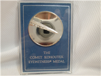 The Comet Kohoutek Eyewitness Silver Medal (Franklin Mint, 1974)