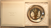 "Franklin Mint  The 1974 Easter Plate ""He Is Risen"" by Abram Belskie"