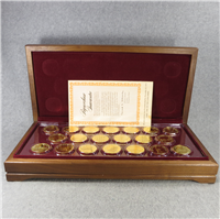 The Medallic Treasury of Great American Landmarks Limited Edition Medals Collection    (Franklin Mint, 1971)